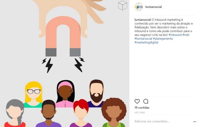Inbound marketing da Lumiar Social