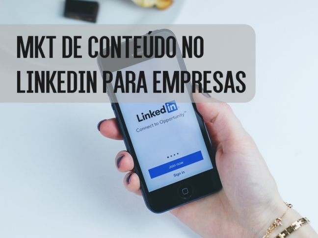 marketing de conteúdo no linkedin